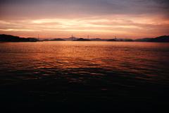 来島大橋(夕暮れ)