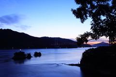 鶏小島の夜明け