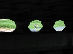 橋下駄^^と親子
