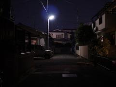 玄関先の夕景3
