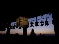 二月堂から見た夕景3