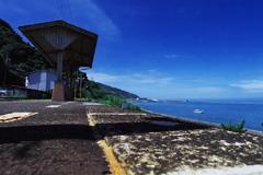 海の見える駅で6
