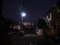 玄関先の夕景4