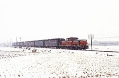 昭和劇場 「雪の草津線」