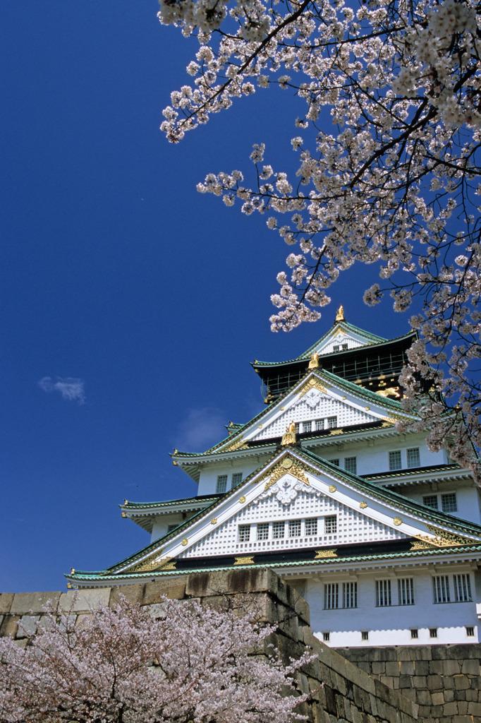 春・大阪城