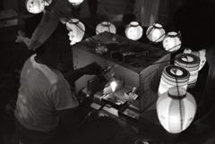 昭和劇場 「提灯売り」