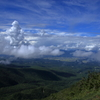 青い空と広がる雲