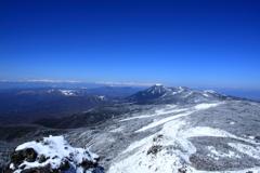 初春の八ヶ岳