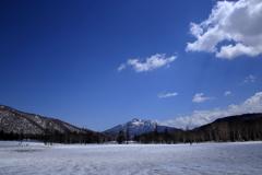 雪原の尾瀬