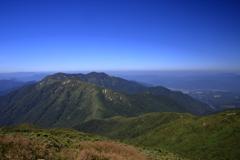 登山日和な青空