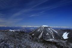 北横岳山頂から