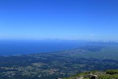 津軽の海と空
