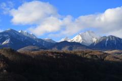八ヶ岳の山並み