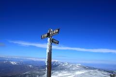 八ヶ岳ブルーの空