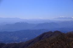 掃部ケ岳山頂