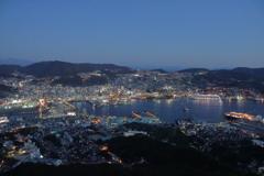煌めく長崎の街