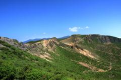 安達太良の山並み