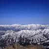 雪の山並み