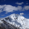 谷川岳の頂き