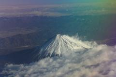 日本最高峰の頂き