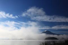 富士山、現る