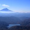 富士山ビューの2日間~大菩薩嶺 雷岩