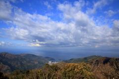 駿河湾の眺め