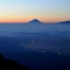 富士山 ブルーアワー