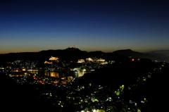 長崎_八景町から見る夜景
