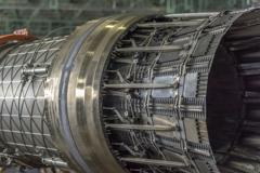 F-15戦闘機ジェットエンジン