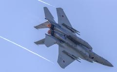 岐阜基地航空祭-F-15 逆光