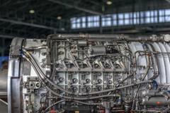 戦闘機ジェットエンジン