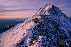 赤岳と富士