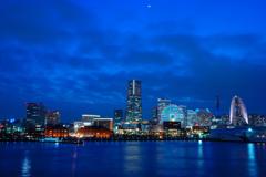 初めての横浜夜景