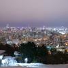 札幌冬夜景~旭山記念公園~