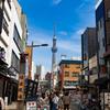 青空の東京スカイツリー