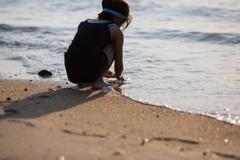海を見に行こう -波打ち際
