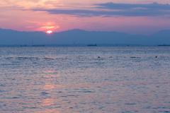 海を見に行こう -夕凪の時