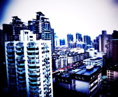 Shanghai on Early-Morning