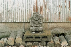 フィルム散歩 謎の石仏