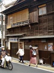 成田の路地裏