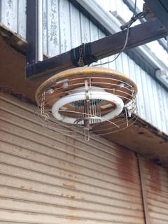 店先のアダムスキー型UFO
