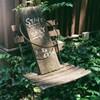 ハーフカメラ日和  木陰の椅子