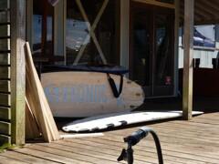 サーファーの集う場所
