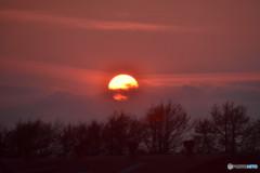 北の夕日 その2