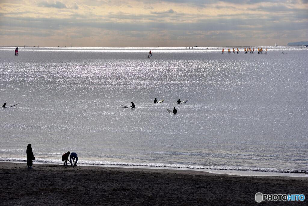 新春(はる)の海 その2