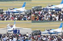 Blue Impulse登場・ウオークダウン(航空祭5)