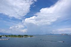 真夏の琵琶湖2