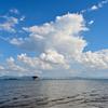 夏よさようなら 琵琶湖畔で