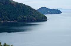 静寂の奥琵琶湖